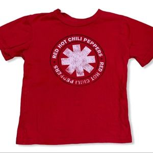Red Hot Chili Peppers short sleeve logo tee 5T